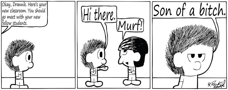 Negligence #294: Murf!