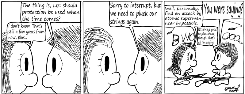 Negligence #173: Awkward Discussion
