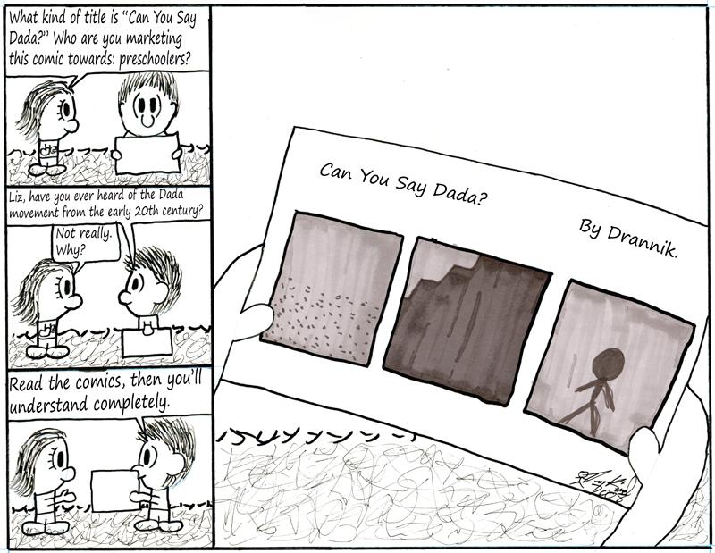 Negligence #119: Drannik's Comic